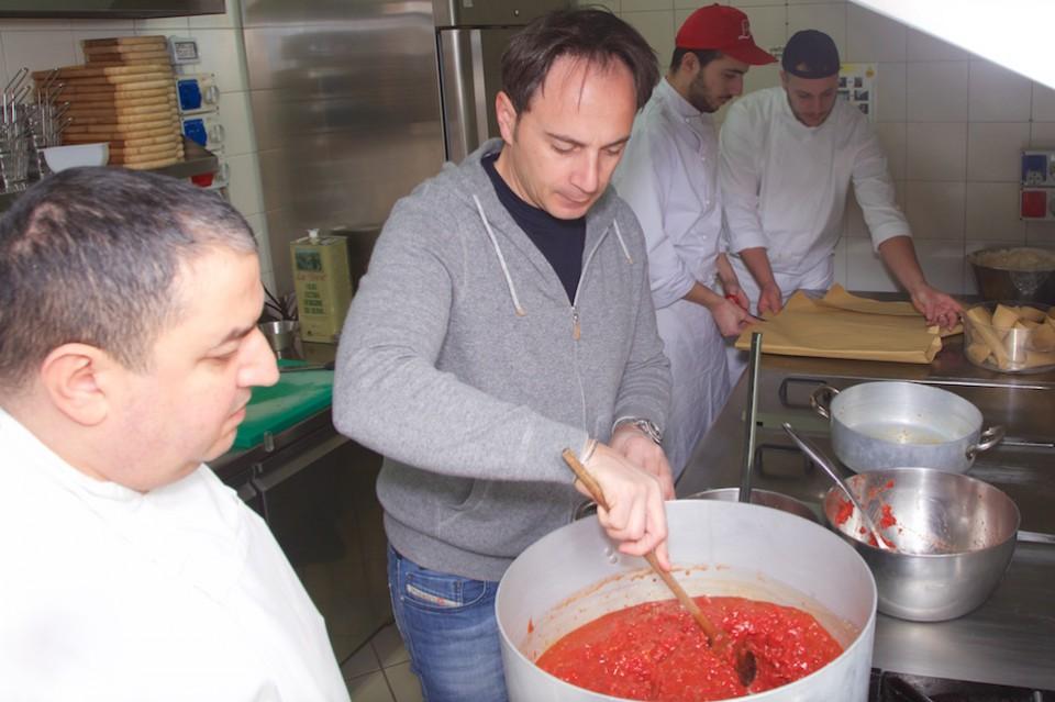 Nino Di Costanzo pizza