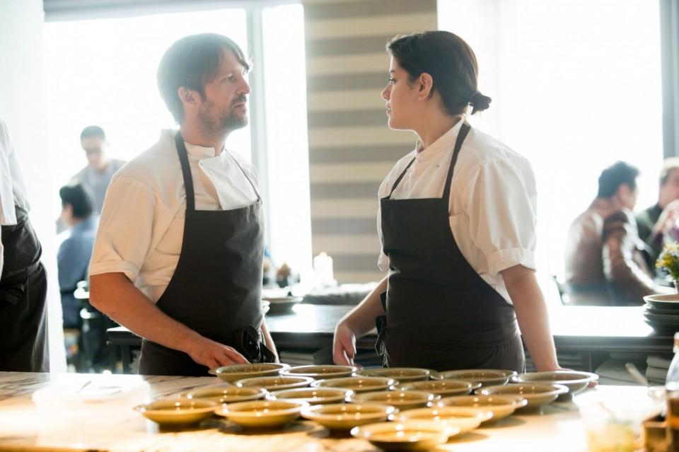 Redzepi con la pastry chef Rosio Sánchez