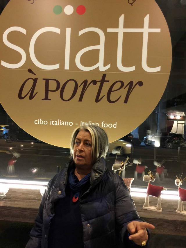 Sciatt a porter Milano