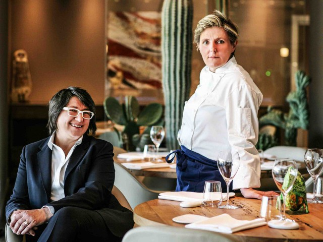Viviana e Sandra Alice ristorante