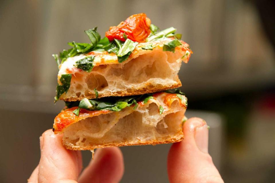 alveolatura pizza Bonci