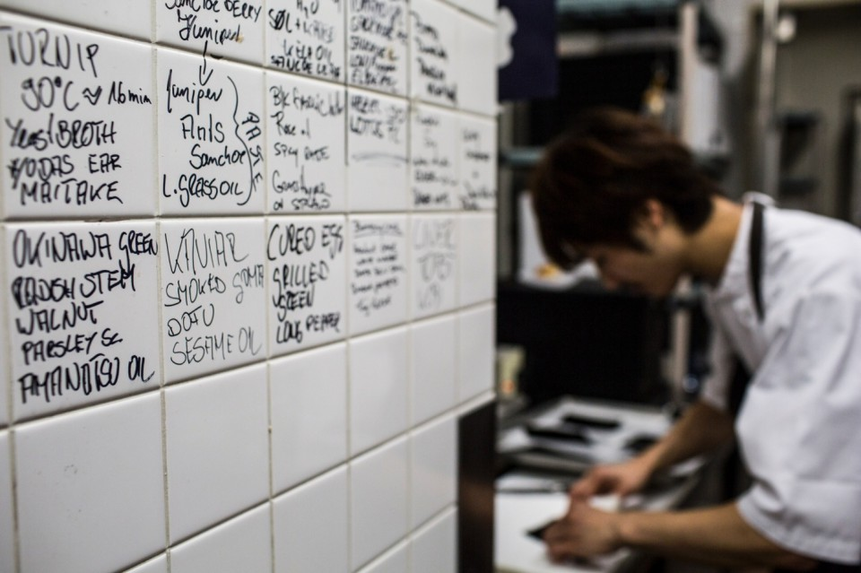appunti nella cucina del Noma 5