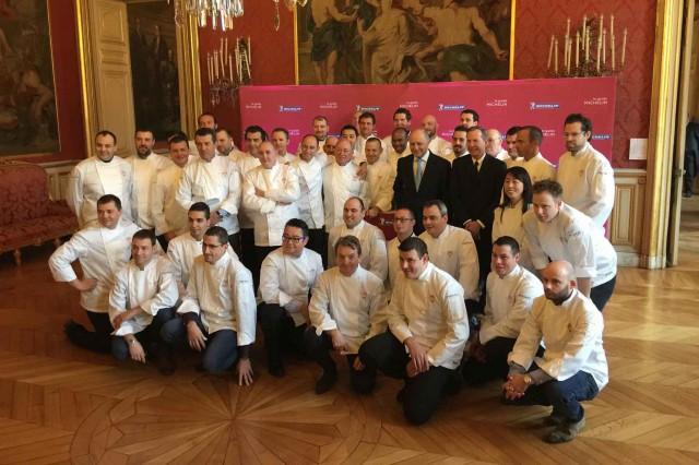 chef stelle Michelin 2015 Francia