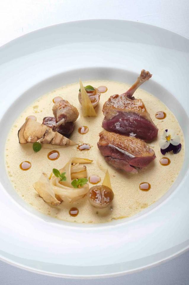 piccione foie gras