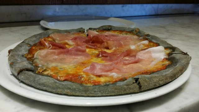pizza al carbone