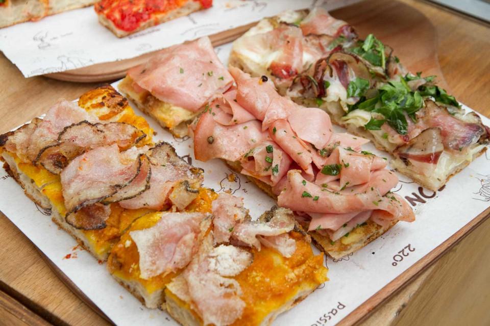 pizza al taglio Pizzarium