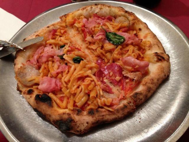 pizza pasta e fagioli