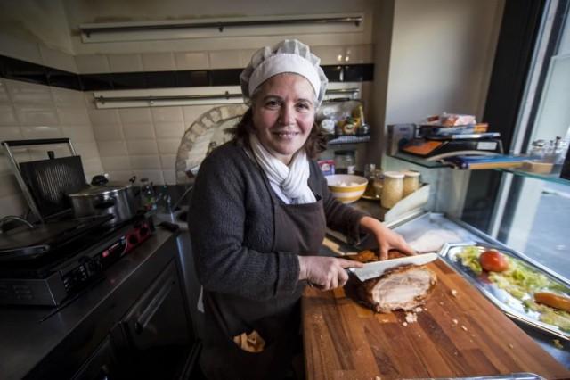 porchetta per il panino del Presidente Mattarella