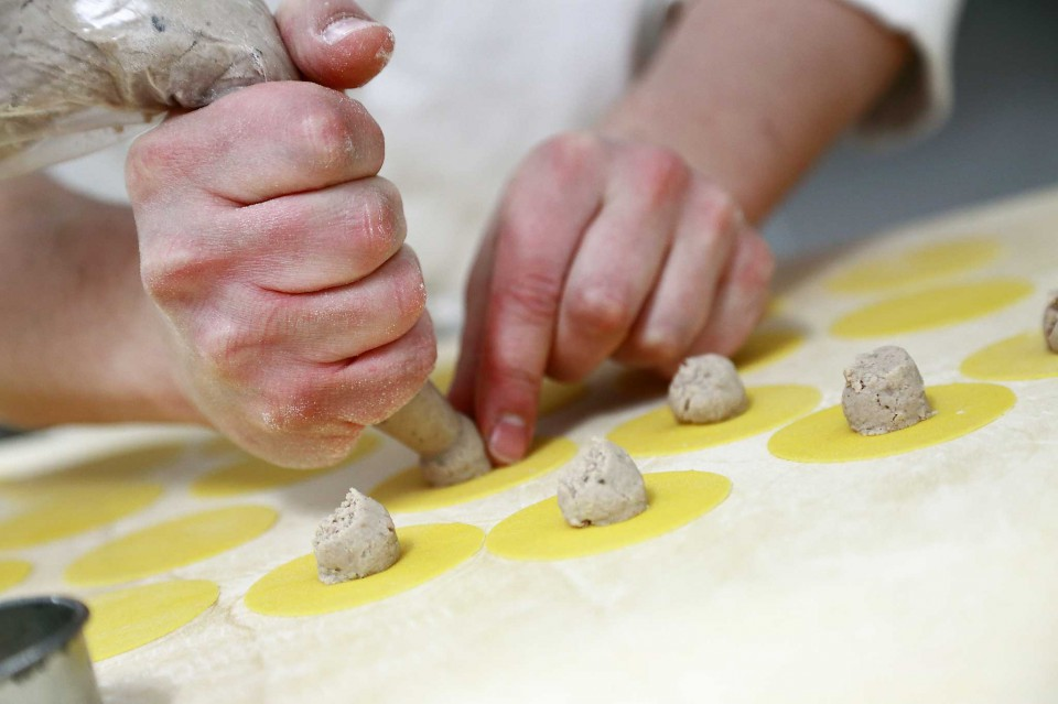 preparazione tortelli