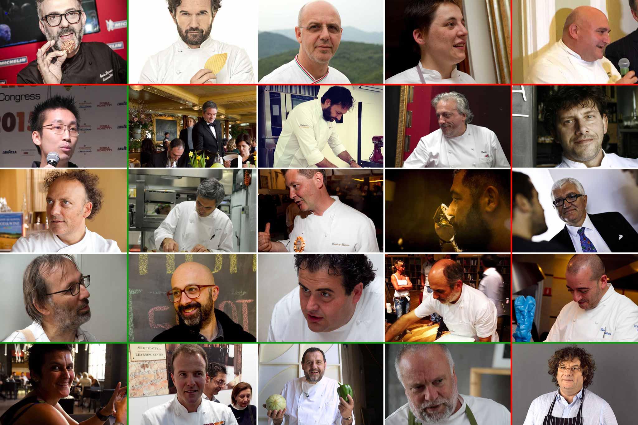 I nomi dei 25 chef italiani pi influenti for Nomi dei politici italiani