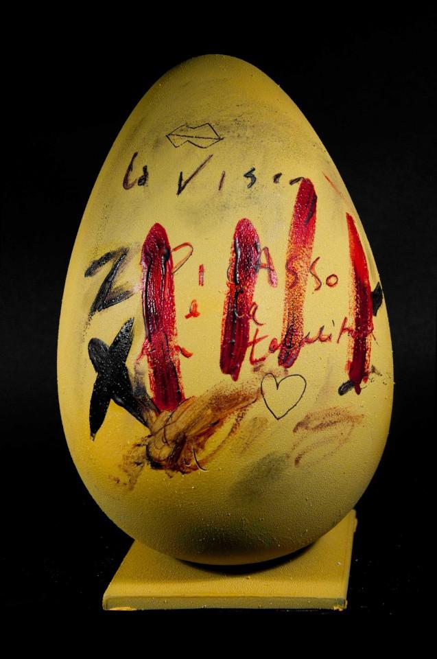 Bompiani uova Pasqua Tapies Antoni