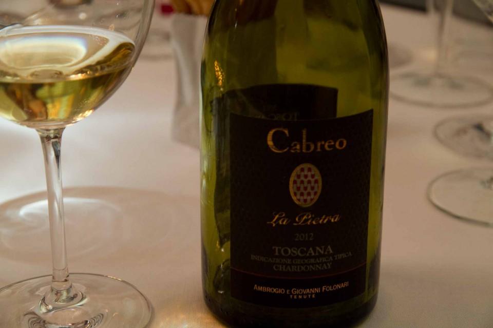 Cabreo La Pietra chardonnay