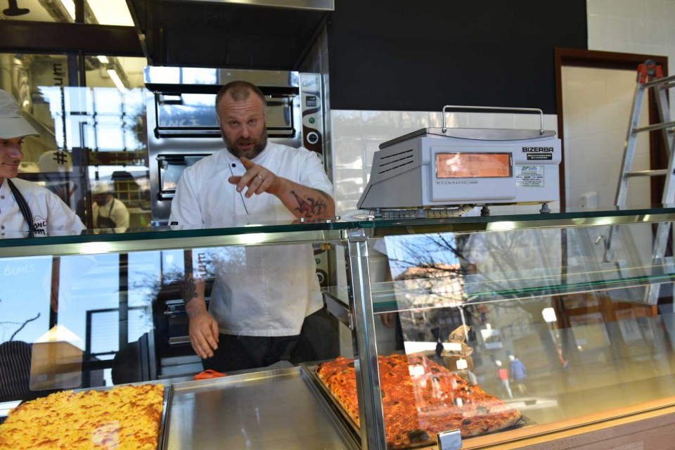 nuovo Pizzarium Gabriele Bonci Roma