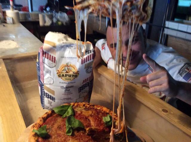 Davide Civitiello pizza Deep-Dish