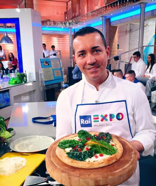 Gino Sorbillo Pizza Arcobaleno Expo