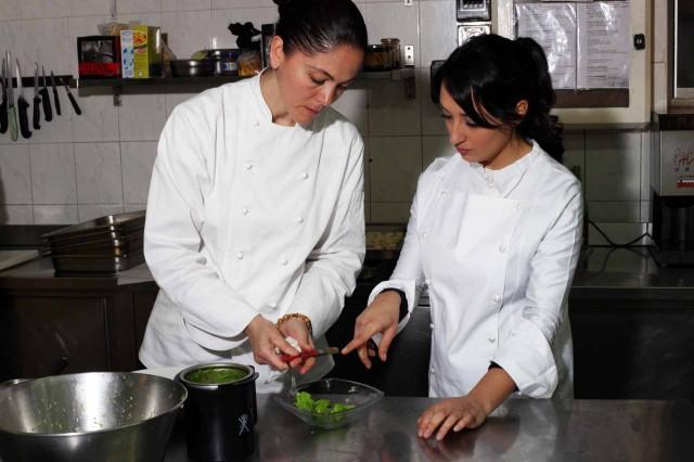 Rosanna Marziale e Amelia Falco