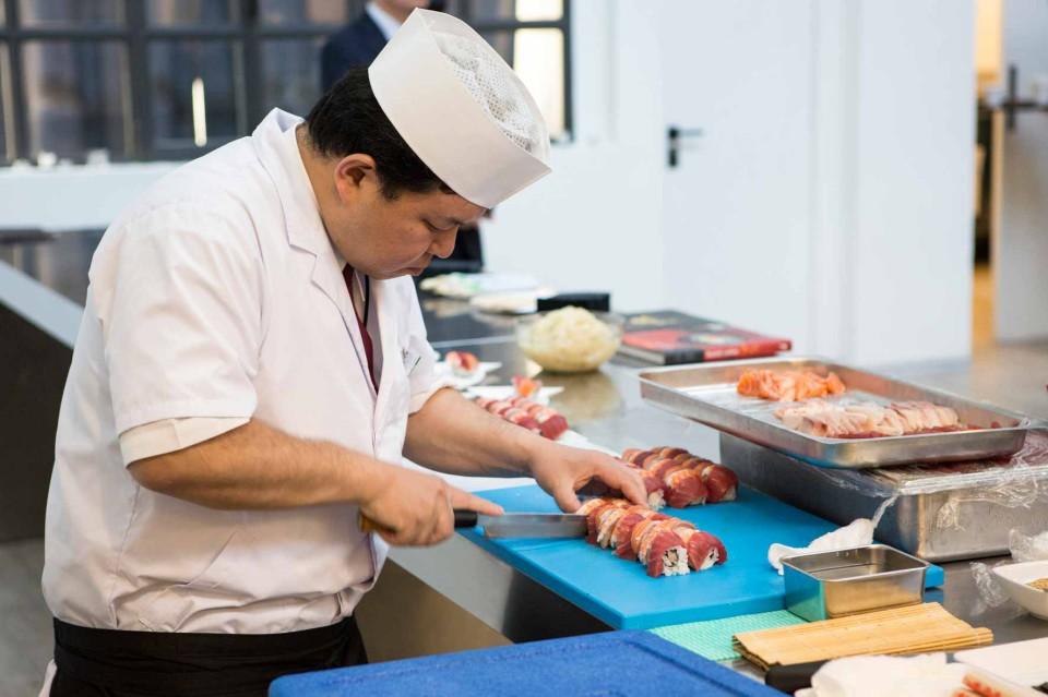 Sushi Ristorante Kyodaru Chef Shimizu