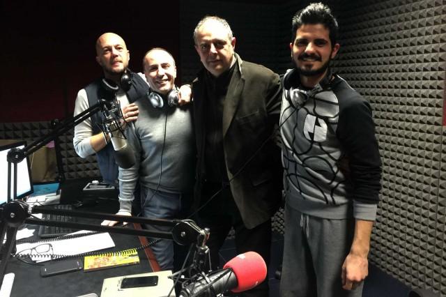 Vincenzo Pagano in radio