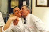 Pizza e pesce. Cosa combinano insieme Marzia Buzzanca e Mauro Uliassi