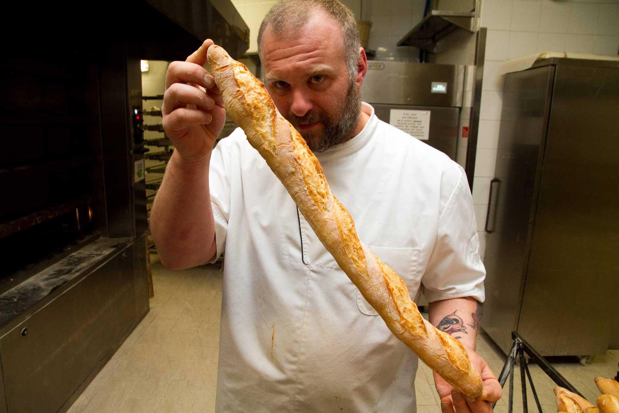 baguette ricetta Bonci