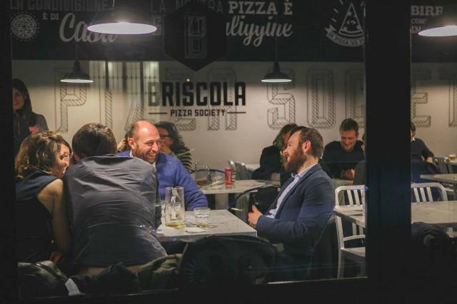 briscola pizza Milano