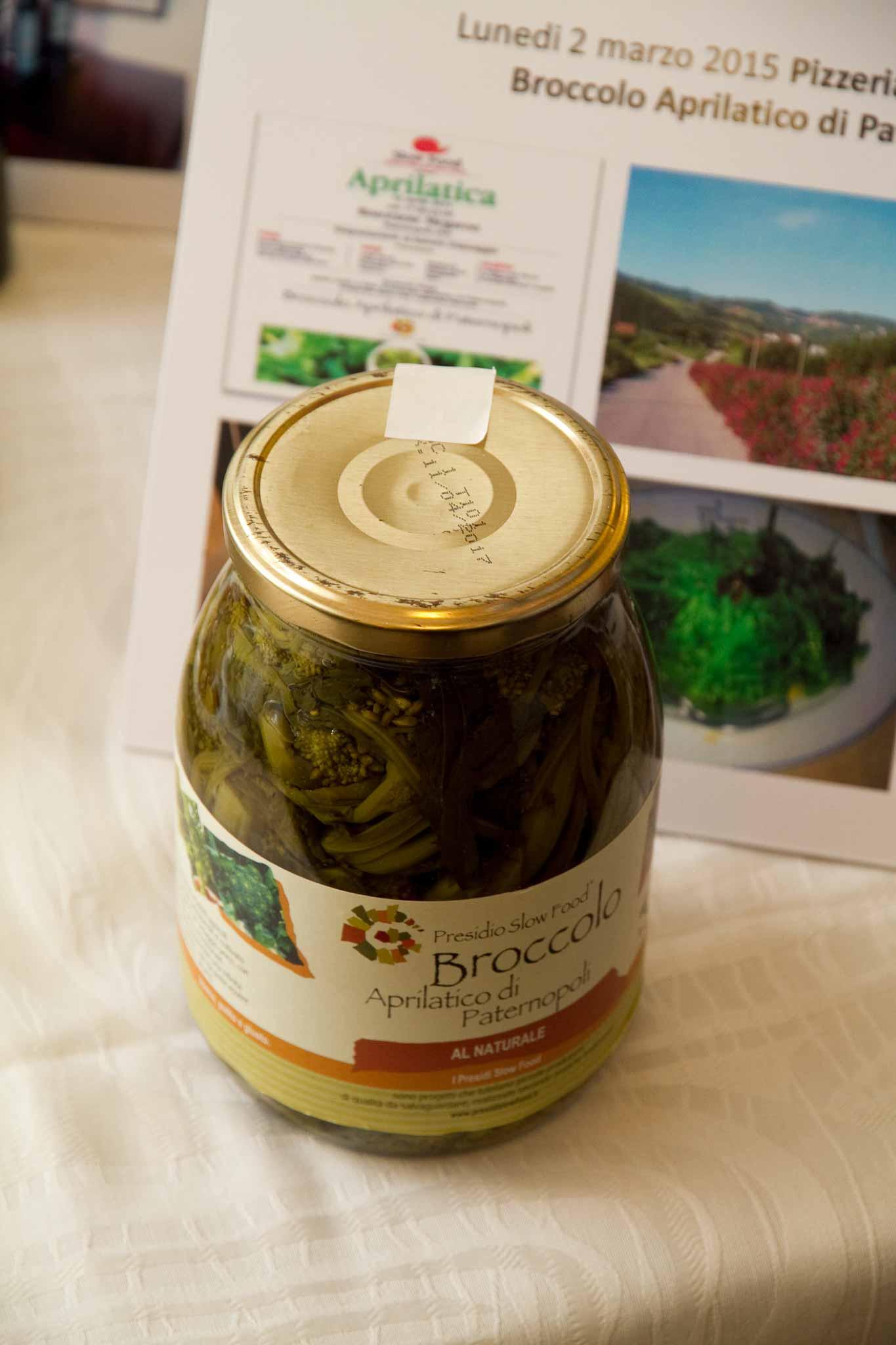 broccolo aprilatico di Paternopoli Silvana del Vicariop