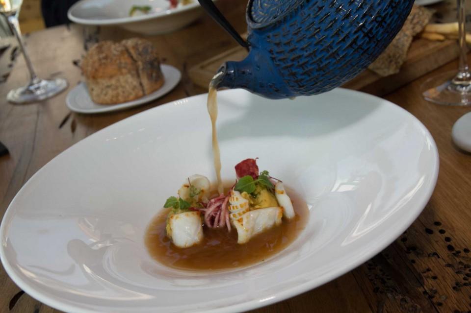 calamaretti brodo