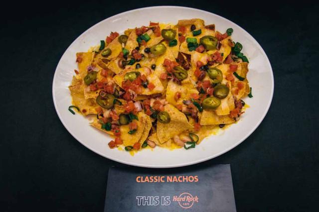 hard rock cafè classic nachos