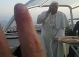 Papa e pizza. La benedizione della Margherita di Gino Sorbillo