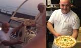 Ecco la pizza che Enzo Cacialli ha dato a Papa Francesco