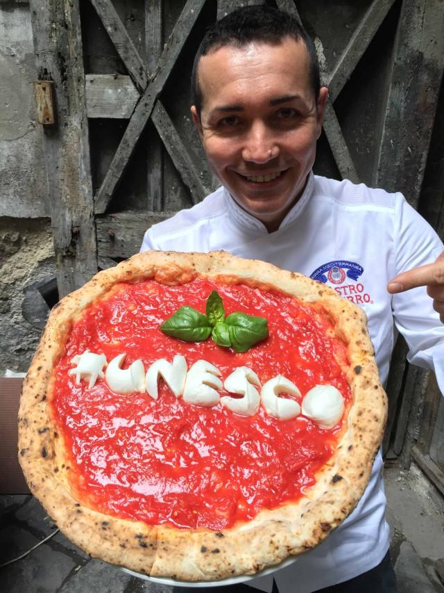 #pizzaunesco Gino Sorbillo