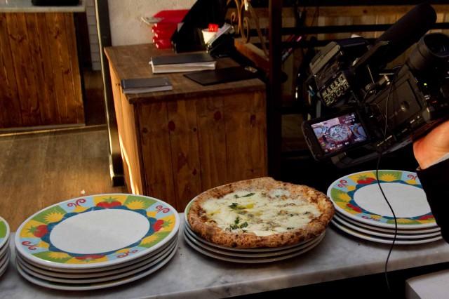 pizze fotografare video