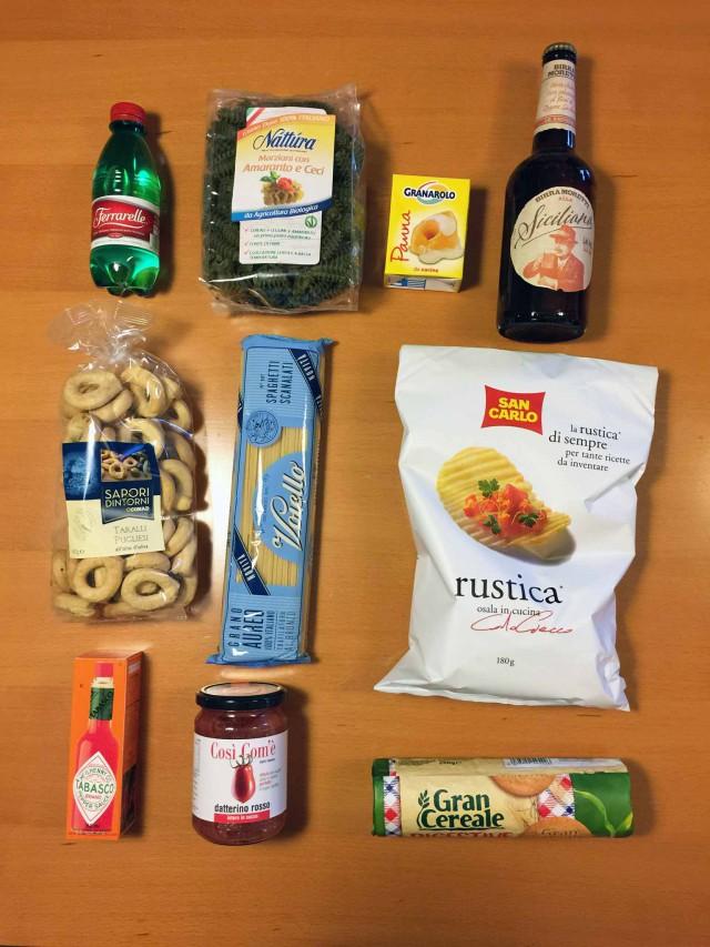 prodotti per ricetta a sorpresa