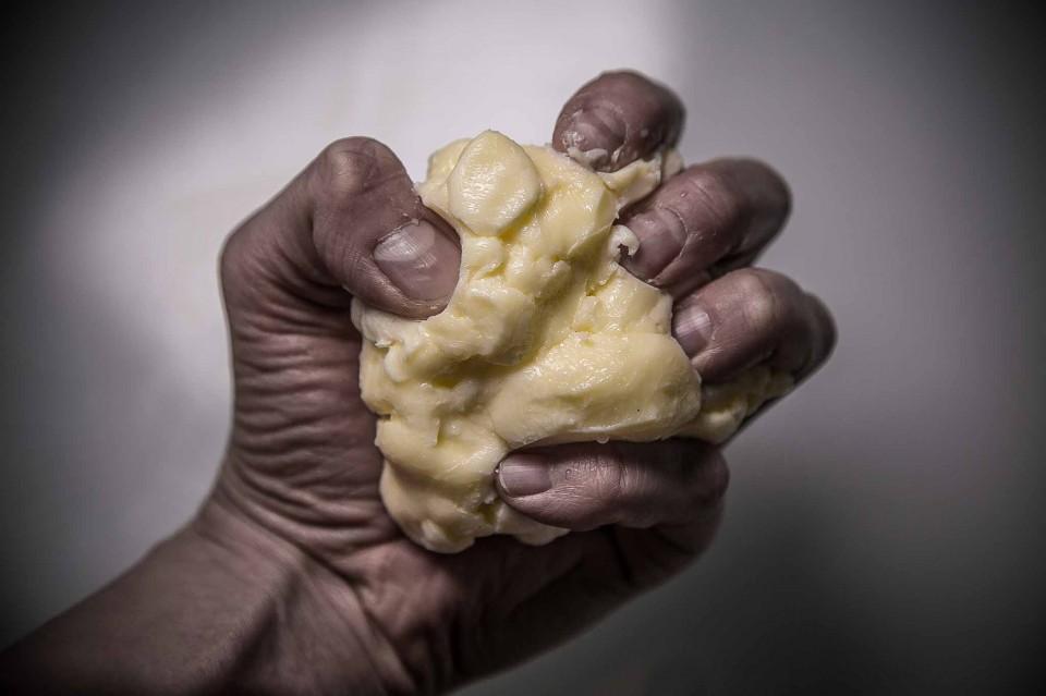 ricetta burro fatto in casa strizzare