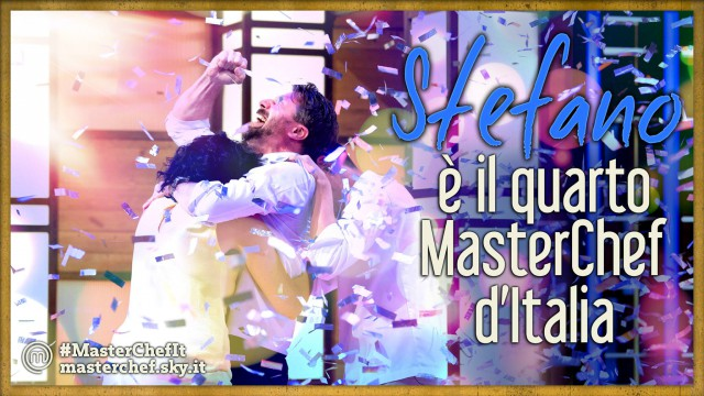 stefano vincitore Masterchef Italia 4