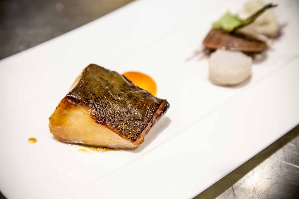 Black cod al miso grigliato