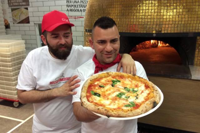 Capuano Civitiello pizzaioli Expo
