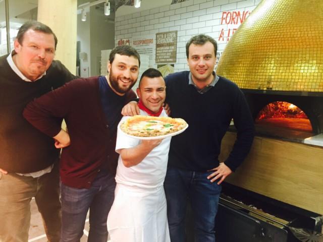 Farinetti pizza Expo