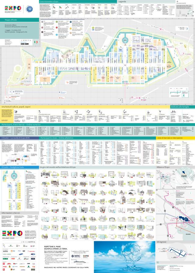 Mappa Expo 2015
