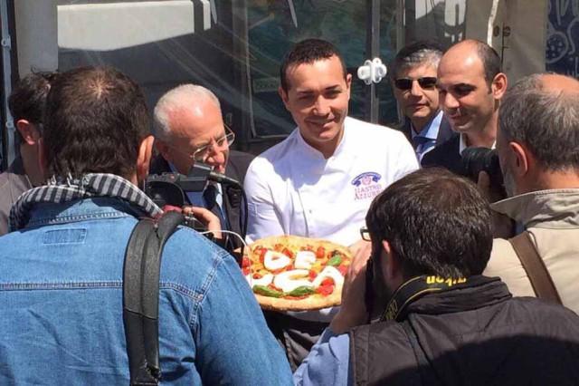 Sorbillo De Luca pizza