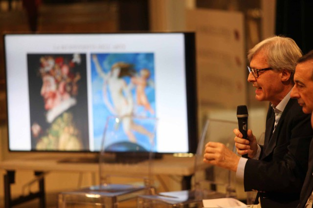 Vittorio Sgarbi Eataly Expo