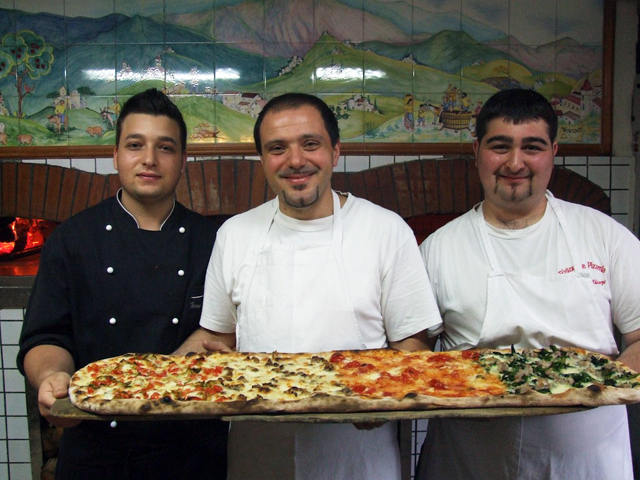 Vittorio e Graziano Giordano pizzaioli