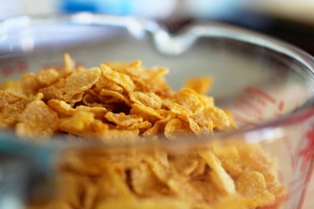 cornflakes colazione