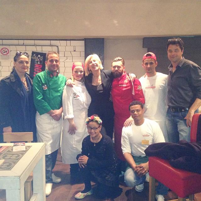 pizza Venezia Rossotour 2015