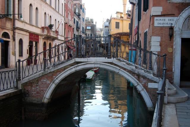 ponte diavolo sestiere Castello Venezia