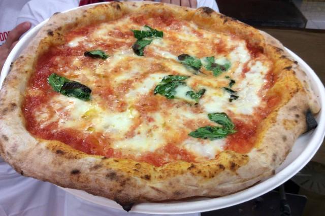 prima pizza Margherita Expo 2015