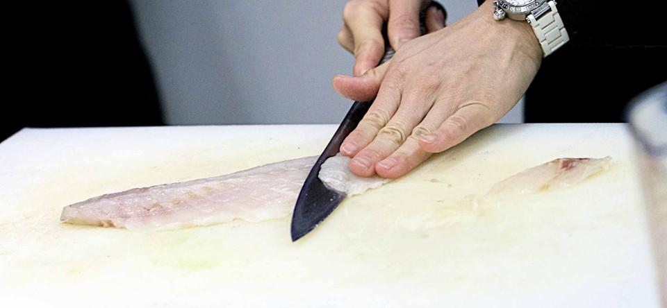 sushi come sfilettare il pesce