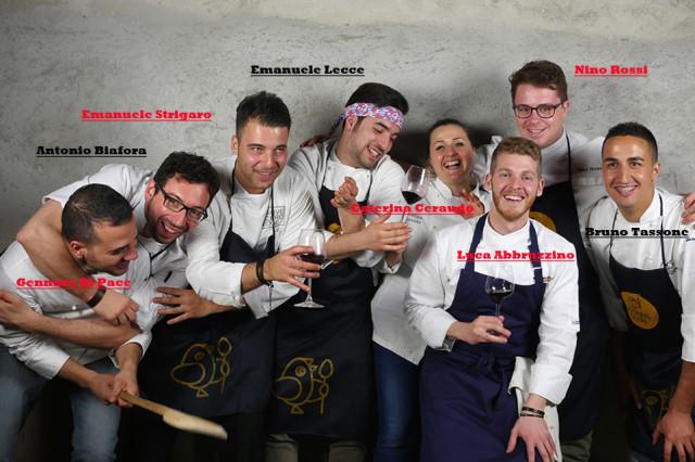 8 giovani chef Calabria