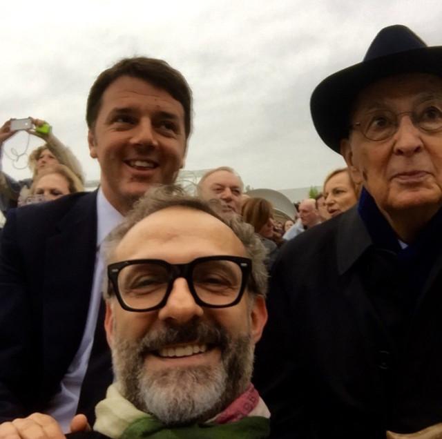 Expo 2015 Bottura Renzi Napolitano