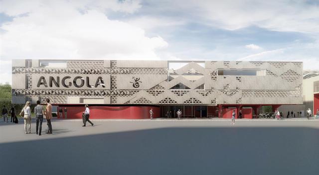 Expo 2015 Padiglione Angola